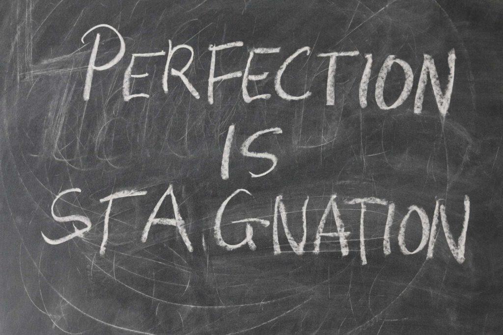 Perfekcjonizm w biznesie. Zrobione jest lepsze od doskonałego.